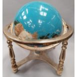 Gemstone globe.