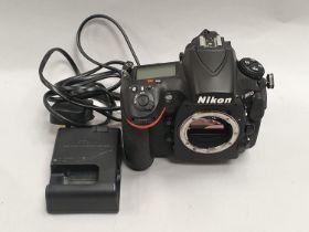 Nikon D810 camera body and Nikon DR-5 viewer.