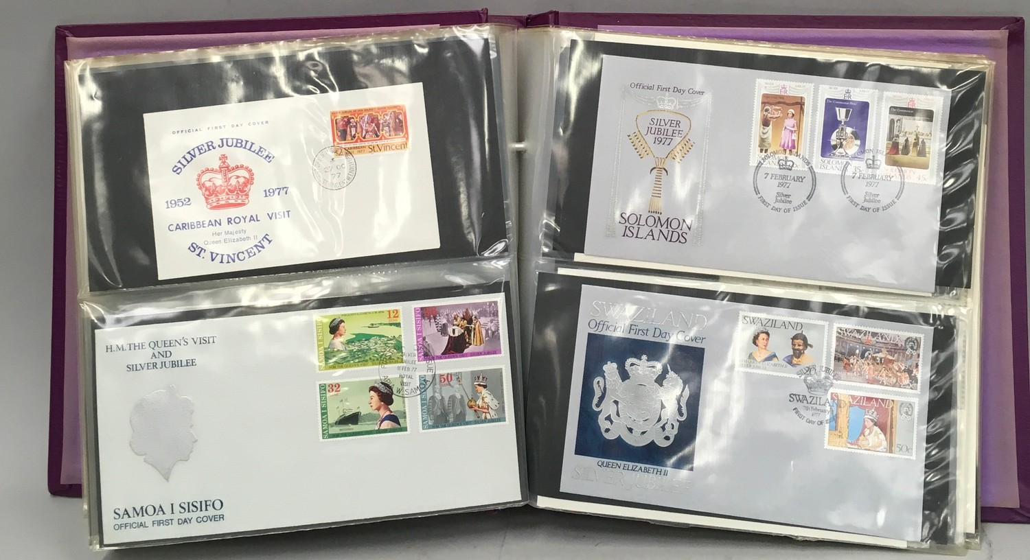 80 Official FDC 1977 Silver Jubilee - Image 4 of 8