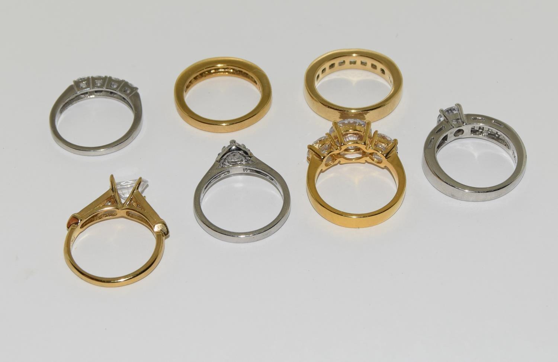 Seven ladies rings TK316 by TUSK Jewelery (New) - Image 3 of 3