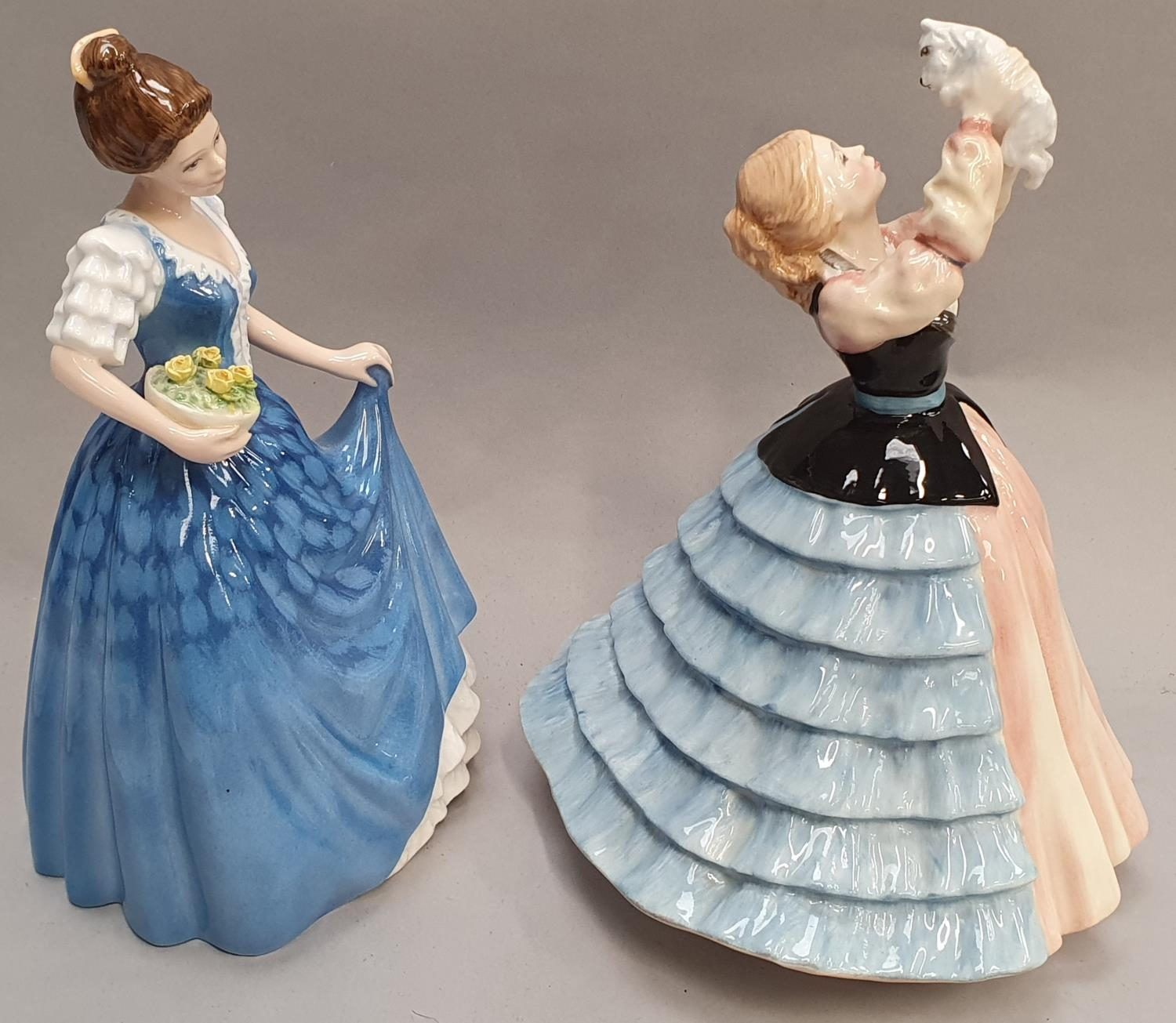 Two Royal Doulton lady figurines H.N. 2952 Susan and H.N. 3601 Helen. - Image 4 of 5