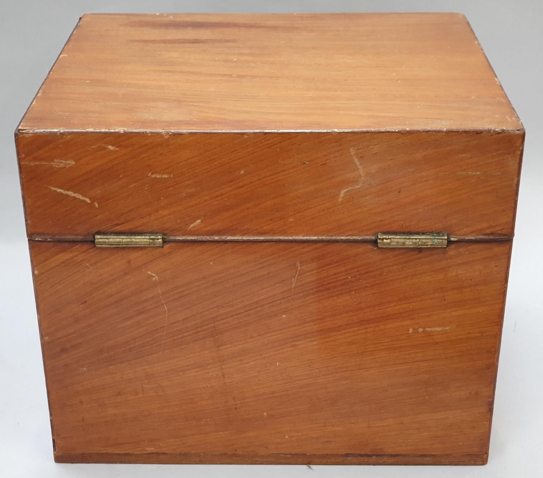 Chemist boxed bottle set for six specimen types 28x23.5x23cm - Image 6 of 7
