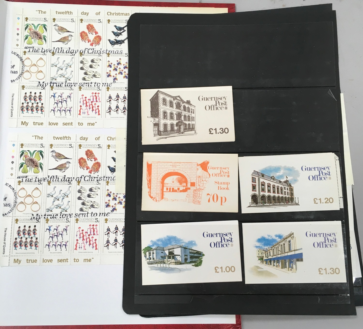 3 x Albums containing Channel Islands, Jersey Guernsey and Alderney over £800 in mint stamps. - Image 11 of 21