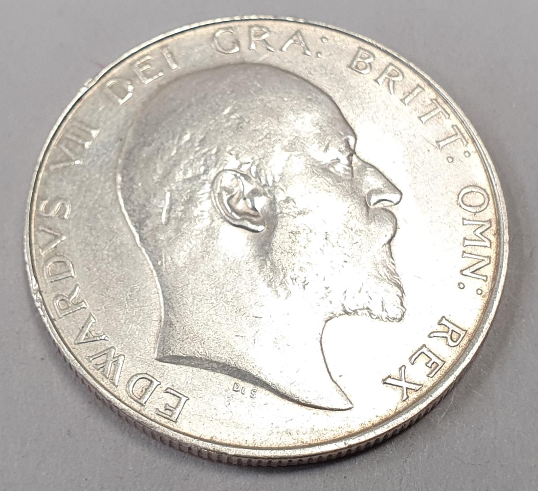 Edward Vii half crown 1908. - Image 2 of 2