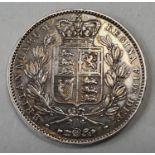 Victoria young head Crown 1845.