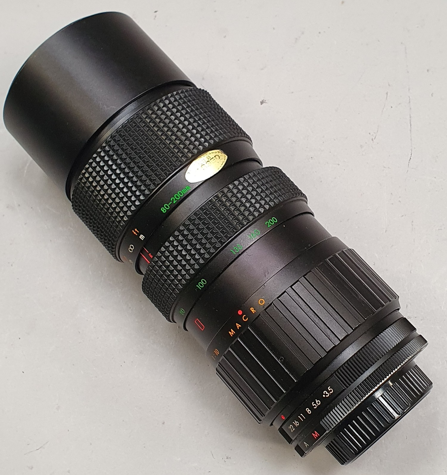 A collection of camera lenses to include Optomax, Nikon etc. - Image 9 of 9