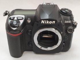 Nikon D200 camera body