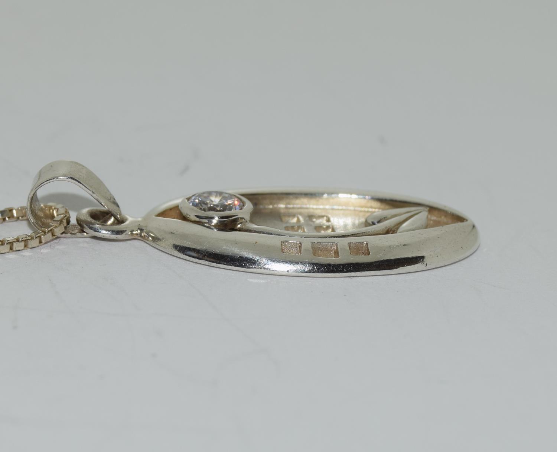 Mackintosh Scottish Arts and Crafts designed pendant. - Image 2 of 3