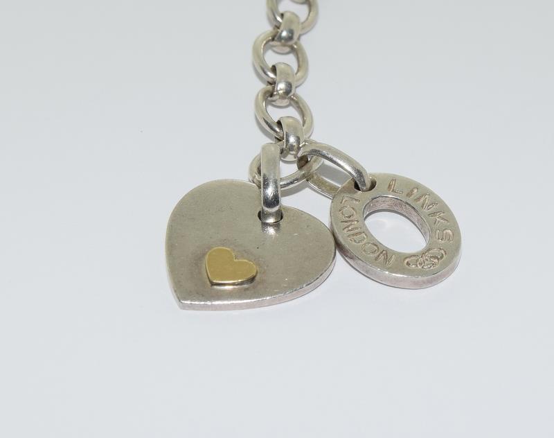 A silver links of London bracelet. - Image 2 of 5