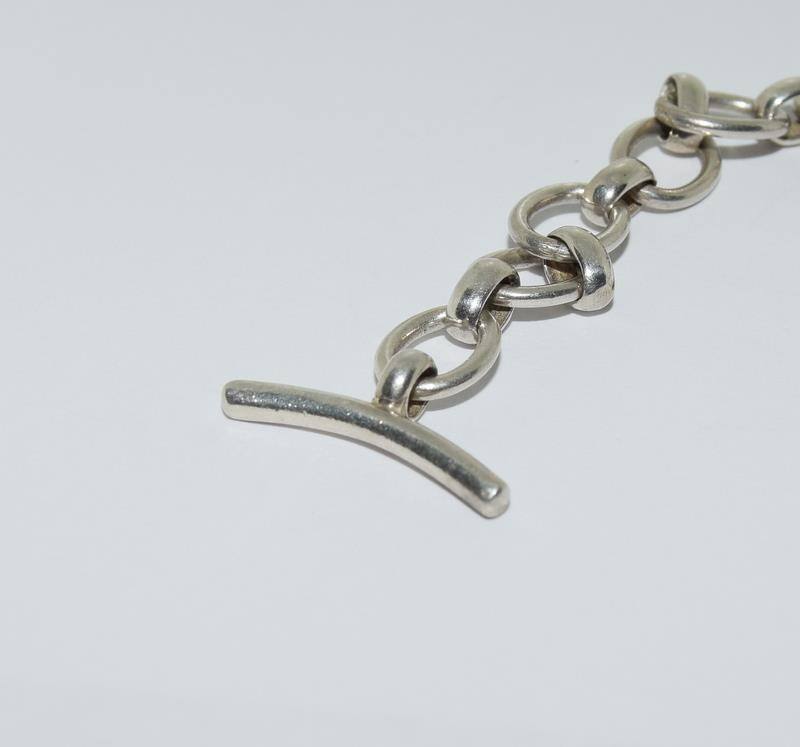 A silver links of London bracelet. - Image 5 of 5