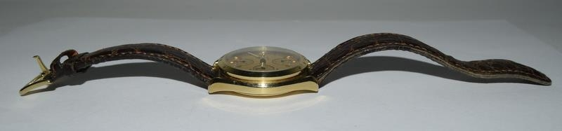Omega Speedmaster 18 carat gold Gents Chronograph watch - automatic, boxed. - Image 4 of 8