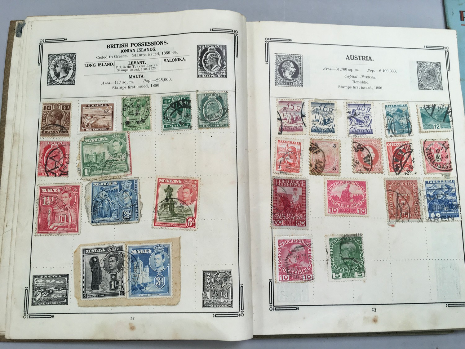 Quantity of stamps and tea cards. - Image 4 of 7
