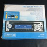NIKKAI A64HY CAR STEREO. This head unit is model number A64HY and incorporates MP3 / USB/SD / CD and