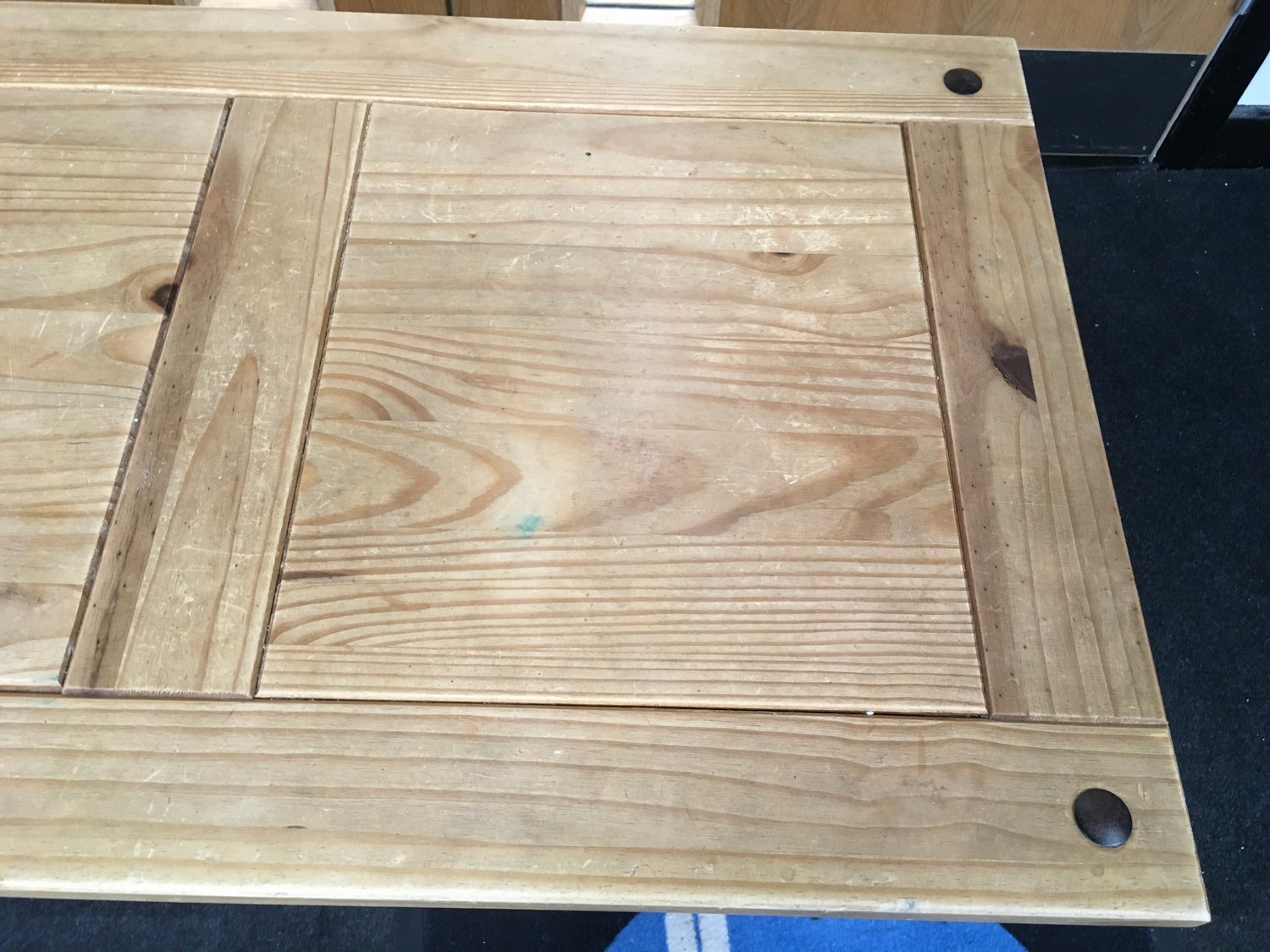 Mexican Pine modern coffee table 60x100x45cm. - Image 3 of 4