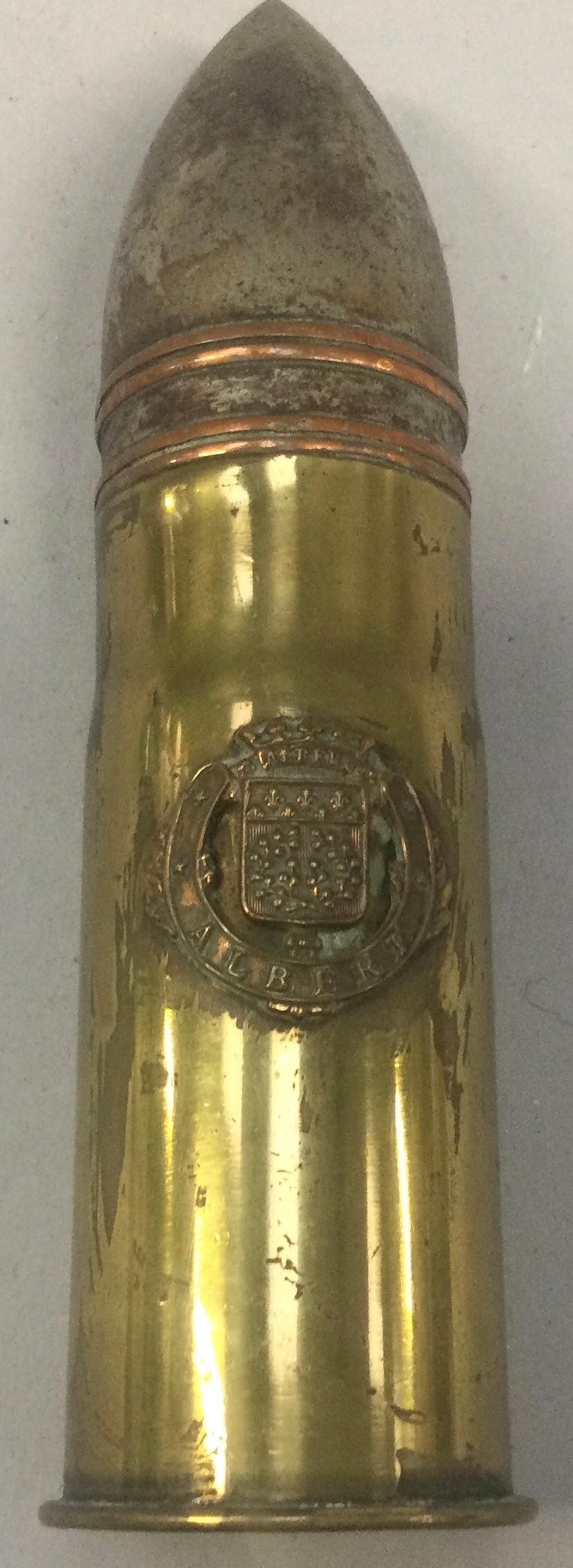 """Military brass bullet """"Alberta"""".Inert shell - Image 2 of 4"""