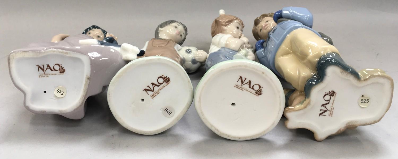 4 Nao figures of children - Image 3 of 4