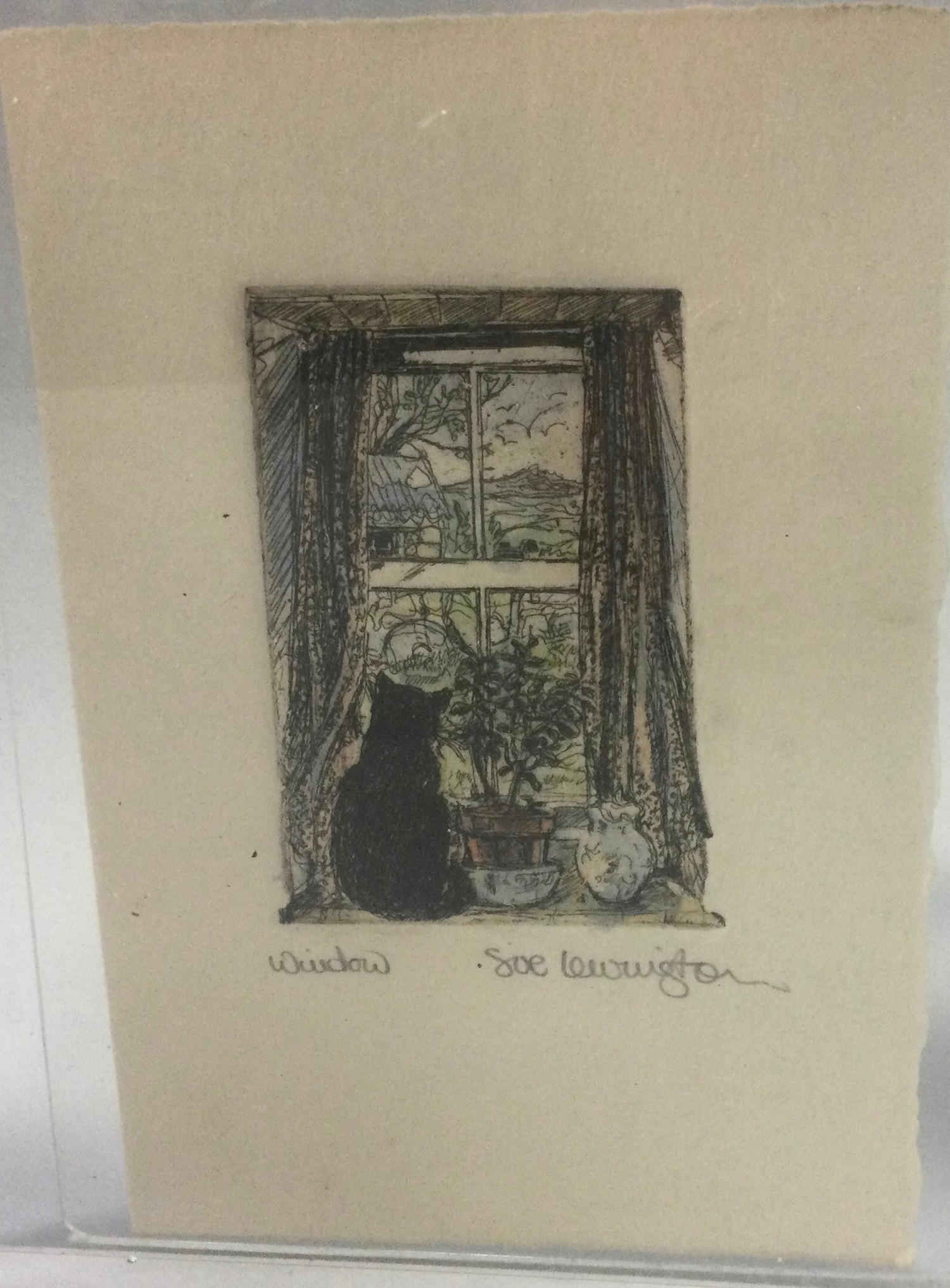 Sue Levington collection of pen & Ink drawings. - Image 2 of 4