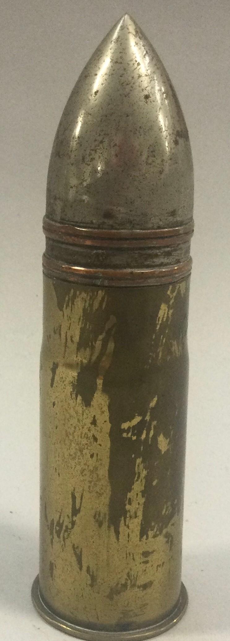 """Military brass bullet """"Alberta"""".Inert shell - Image 3 of 4"""