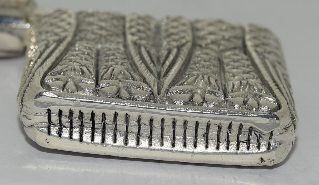 Silver plated owl vesta case - Image 4 of 4