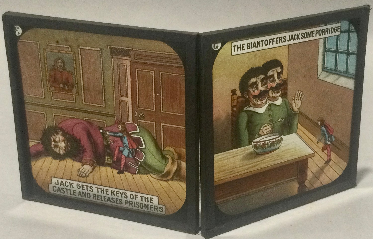 Boxed magic lantern and assortement of slides - Image 4 of 7