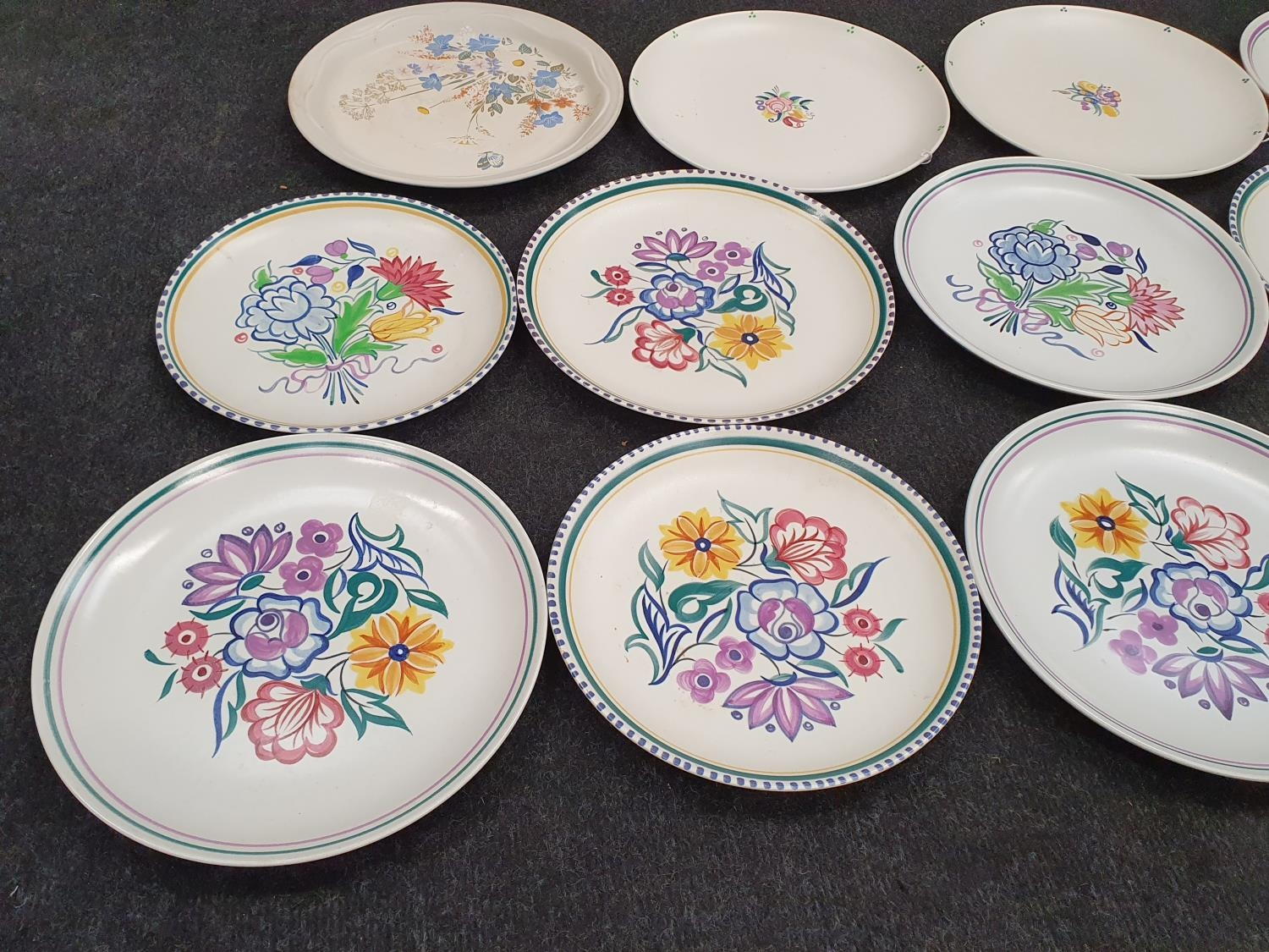 Collection of traditional Poole. - Image 2 of 5