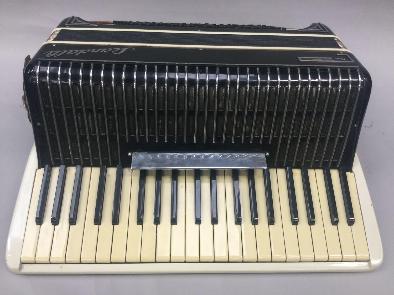 Boxed Symphony 4 accordion.