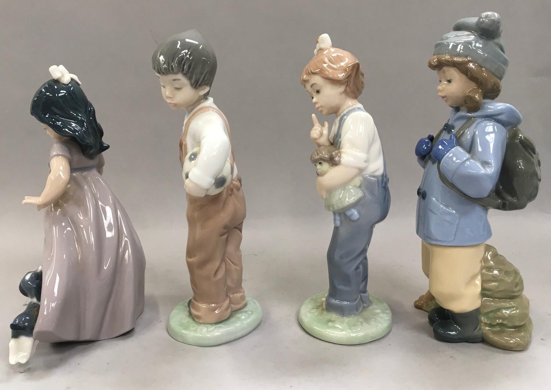4 Nao figures of children - Image 2 of 4