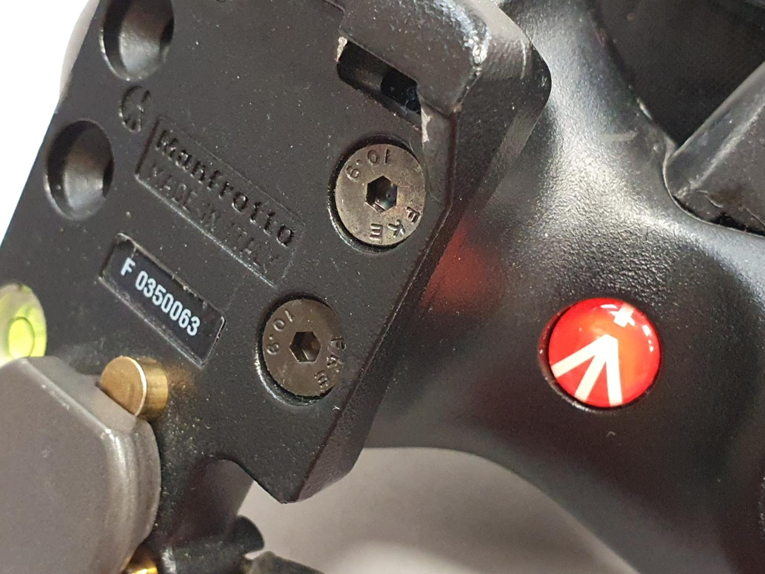 Manfrotto camera grip with other accessories. - Image 2 of 5