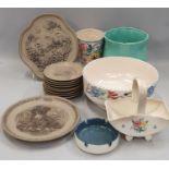 Quantity of Poole Pottery.