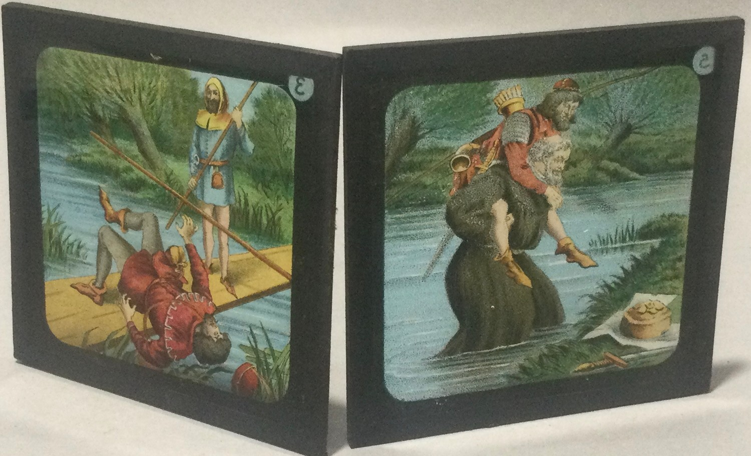Boxed magic lantern and assortement of slides - Image 7 of 7