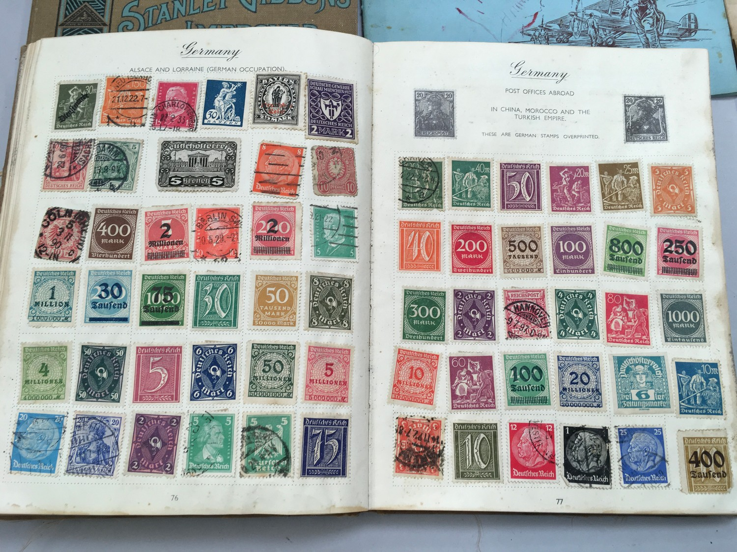 Quantity of stamps and tea cards. - Image 3 of 7
