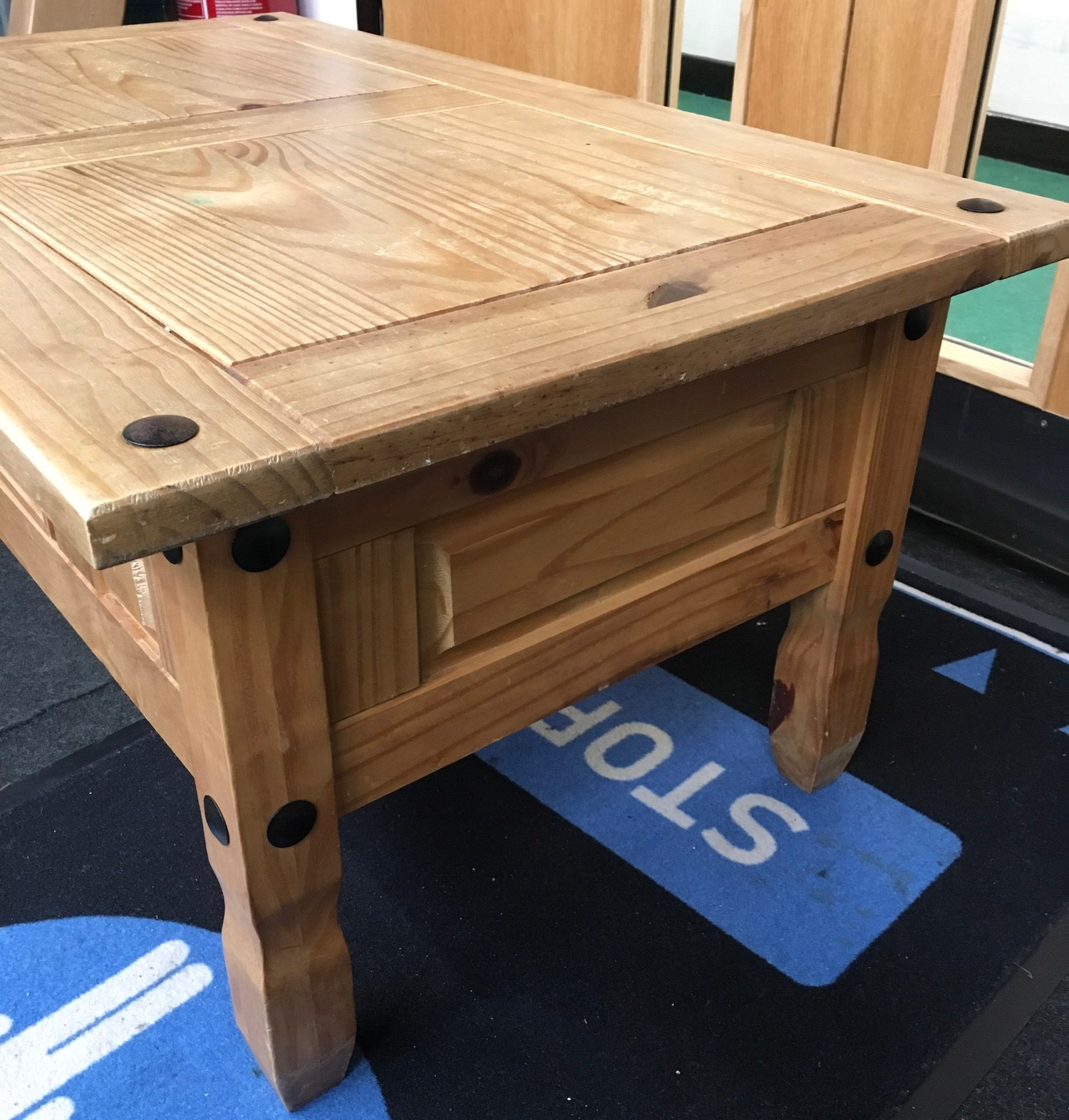 Mexican Pine modern coffee table 60x100x45cm. - Image 4 of 4