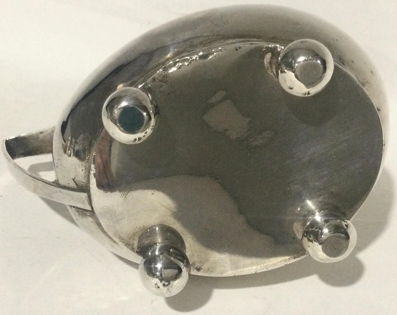 Georgian silver 4 footed milk jug 100gm - Image 3 of 7