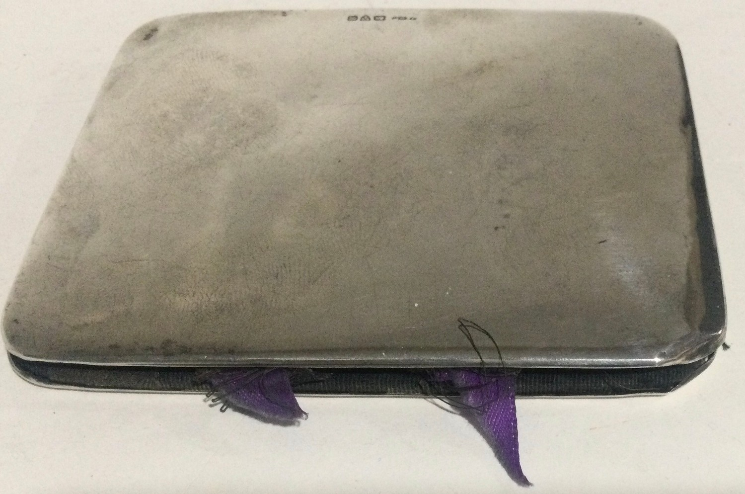 Silver money wallet or card wallet Chester 1917 - Image 5 of 5