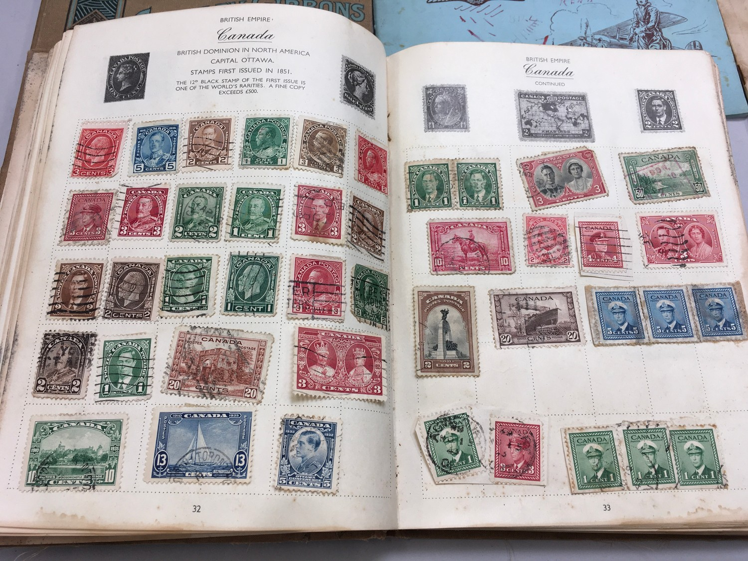 Quantity of stamps and tea cards. - Image 2 of 7