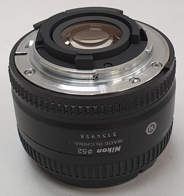 Nikon 50mm camera lens - Image 3 of 4
