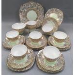 Colchough 21 piece tea set
