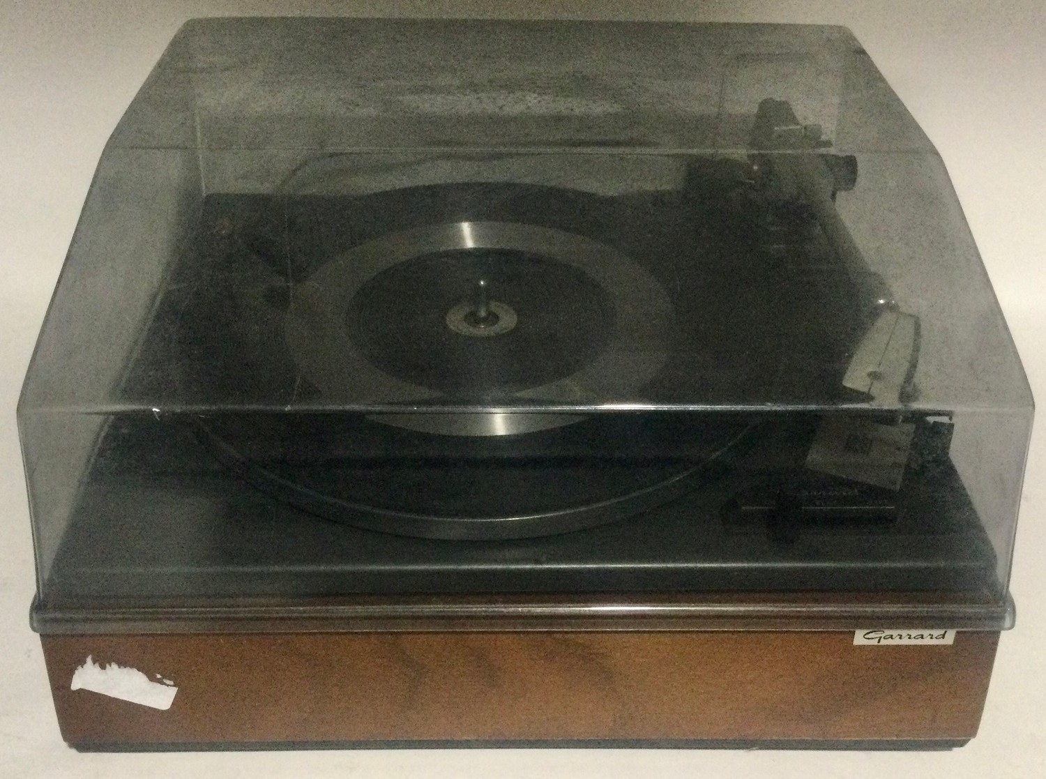 Garrard SP25 mk2 turntable / record player. Comes in wooden plinth with Perspex lid.
