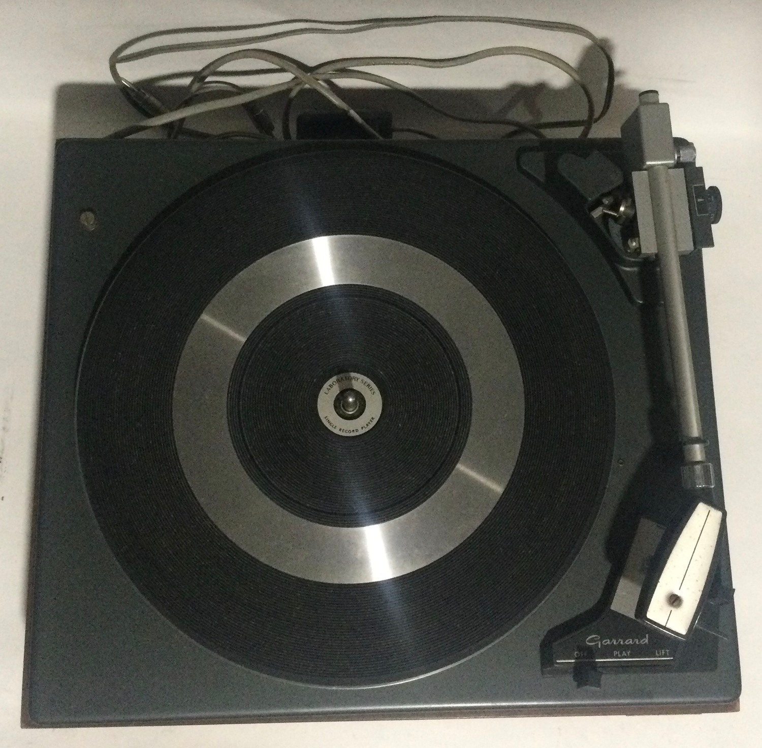 Garrard SP25 mk2 turntable / record player. Comes in wooden plinth with Perspex lid. - Image 2 of 4
