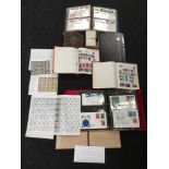 Collection of British and world stamps together with some first day covers with a quantity British