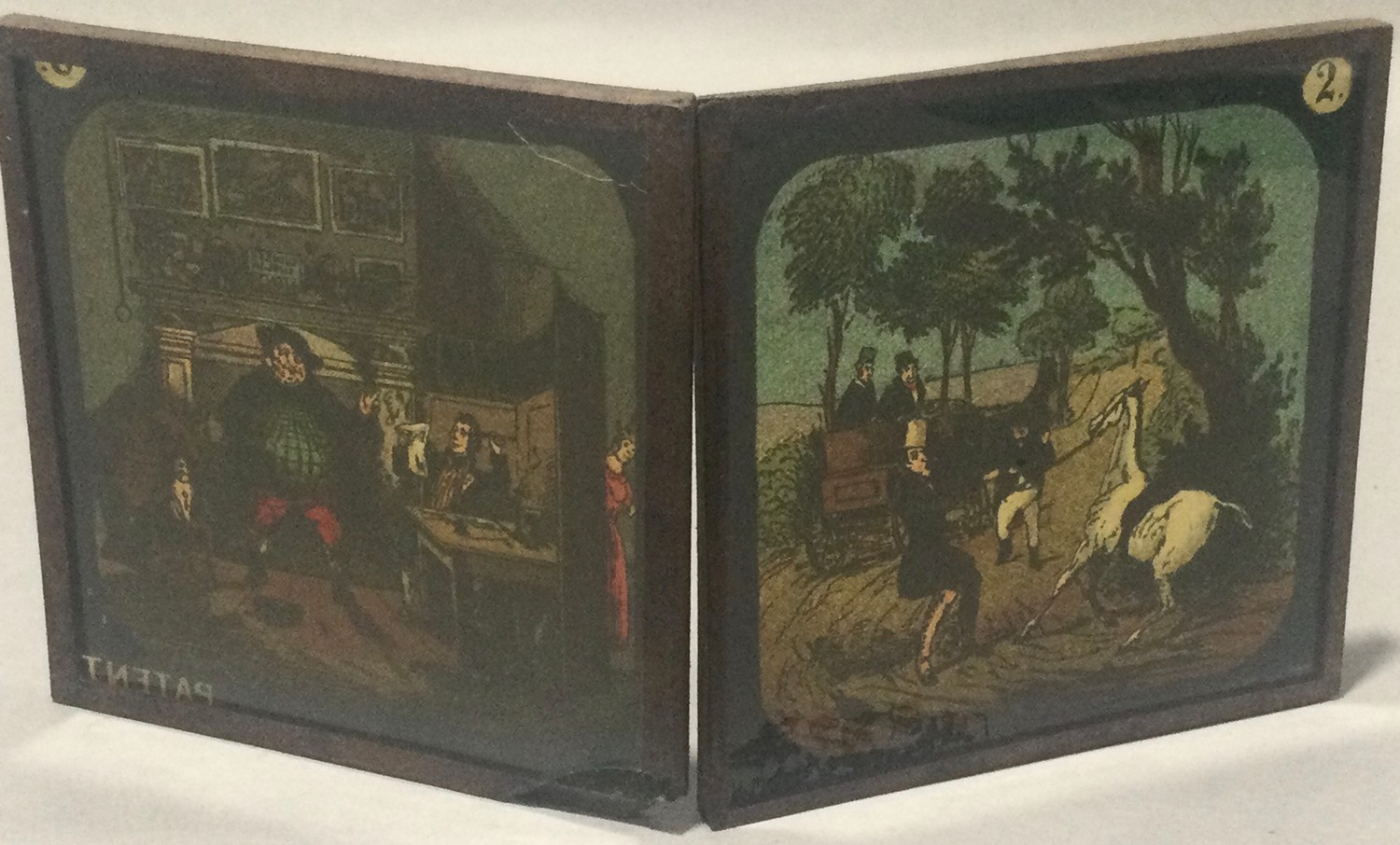 Boxed magic lantern and assortement of slides - Image 5 of 7