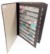 """Album """"Briefmarken-Steckbuch"""" stamps."""