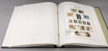 Black album of G.B. stamps vol 2 1971-1992