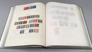 Green album of G.B. King George VI stamps