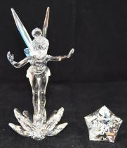 Swarovski Crystal Disney Tinkerbell, code 905780 retired, boxed with paperwork 2008.