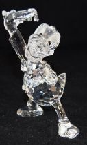Swarovski Crystal Disney Donald Duck from the Disney Showcase, code 687339 retired, boxed with
