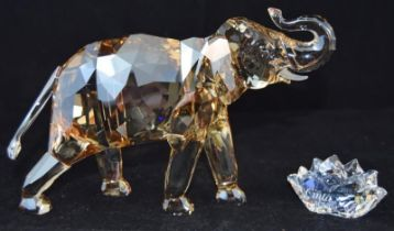 Swarovski Crystal Society Cinta Elephant, code 1137207 retired, boxed with all relevant
