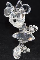 Swarovski Crystal Disney Minnie Mouse from the Disney Showcase, code 687346 retired, boxed with