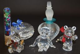 Swarovski Crystal Chimpanzee/Monkey code 221625 together with Sweet Hear jewellery box code