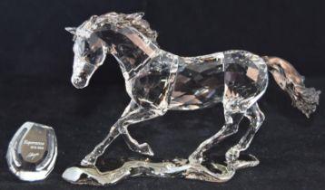 Swarovski Crystal Society Horse Esperanza, code 275439 retired, boxed with all relevant